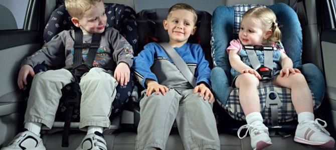 Как правильно перевозить детей в автомобиле?