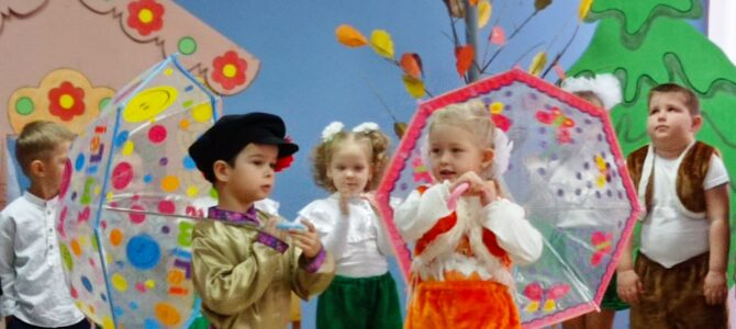 «Творим, танцуем, поём… или о мюзикле в детском саду»